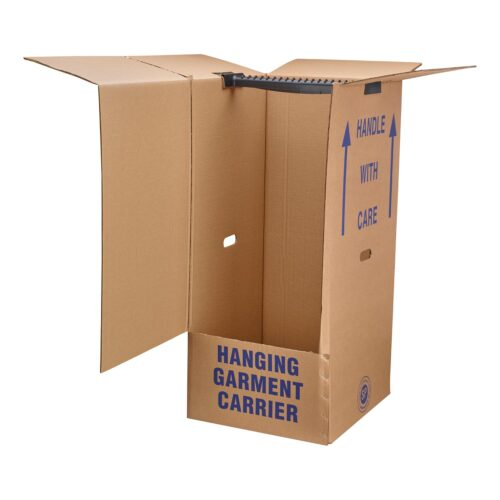 Wardrobe Box with Hanging Bar from The Packing Store